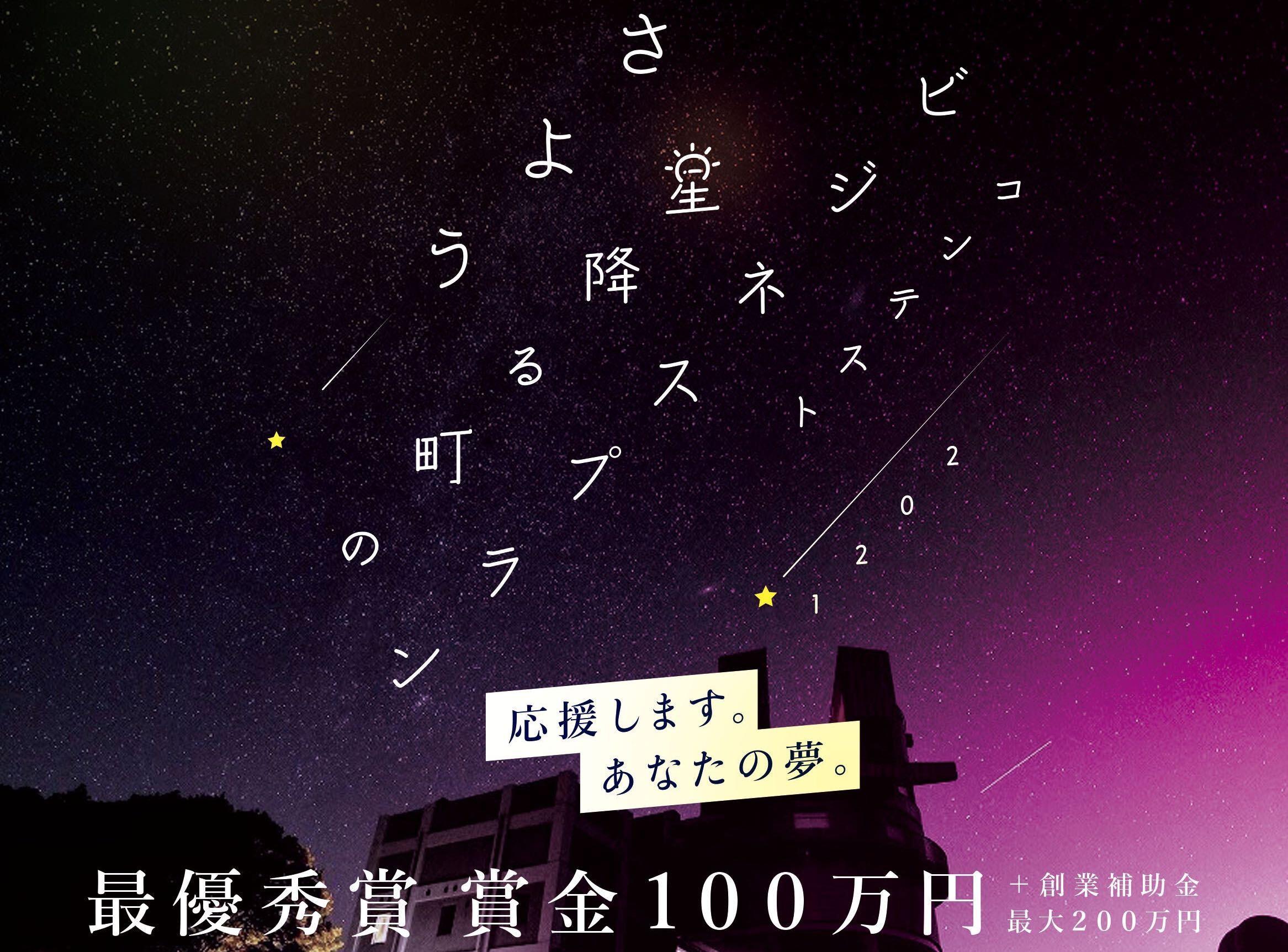 [告知]佐用でビジコンやるってよ!〜「さよう星降る町のビジネスプランコンテスト2021」〜